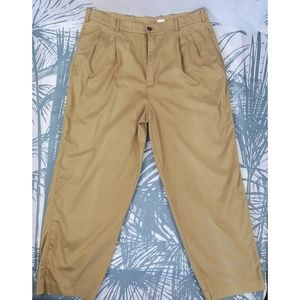 Other - Vintage 90's Pleated Khakis Size 36